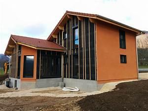 Ossature Bois Maison : maison ossature bois sarl tournier ~ Melissatoandfro.com Idées de Décoration