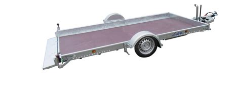 remorque essieux freinée remorque 2 essieux 750 kg frein 195 169 e