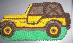 jeep cupcake cake jeep groom 39 s cake my cakes pinterest jeeps cake and