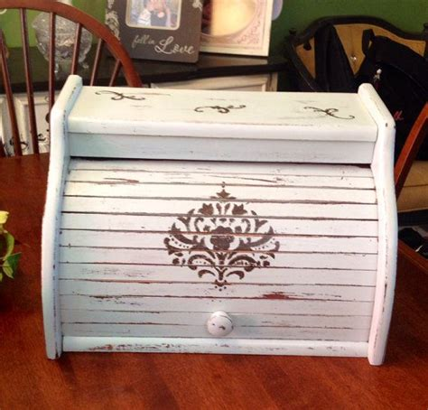 shabby chic bread box 42 best images about is it bigger than a bread box on pinterest painted cottage wooden bread