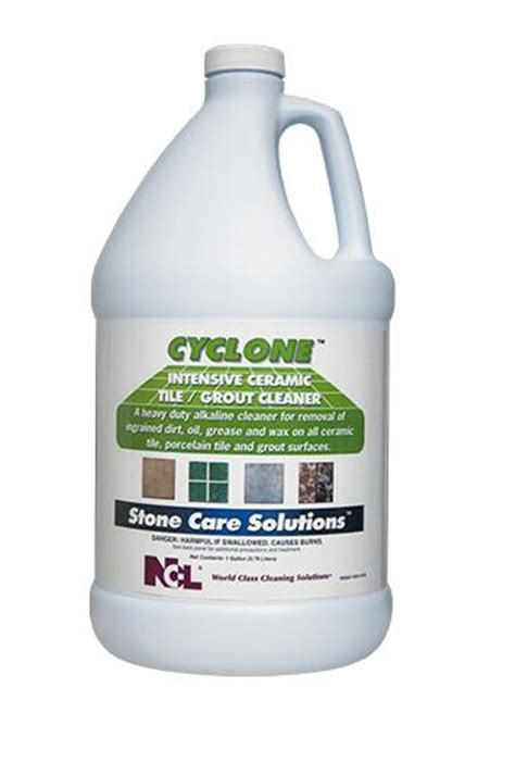 "CLEANER/ ""CYCLONE"" Heavy Duty Ceramic Tile Cleaner"