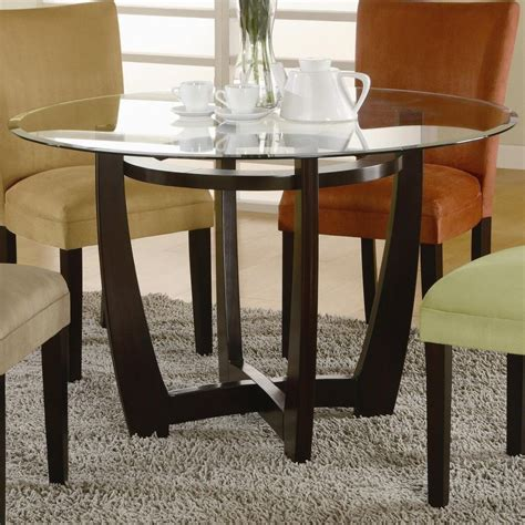 highest quality  marvelous glass dining table base