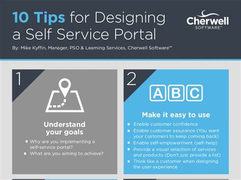 10 Tips For Designing A Selfservice Portal For Your