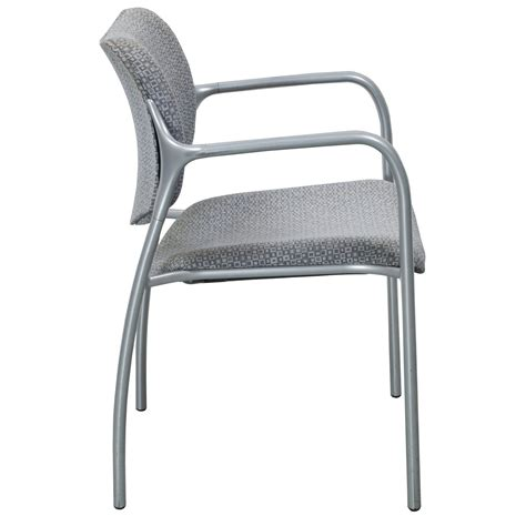 herman miller used aside side chair gray pattern
