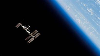 Iss Space Station Orbit Earth Planet 1080p