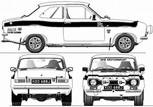 Ford Escort Mk I Rs1600 Group 2  1970