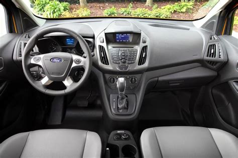 ford transit connect van redesign  release date