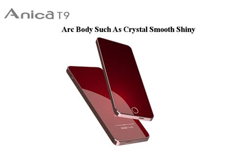Anica T9 1.63 Inch 680mah Dual Sim Bluetooth Ultra Thin