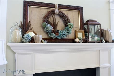 decorated mantels fall mantel decorating step by step tips finding home farms