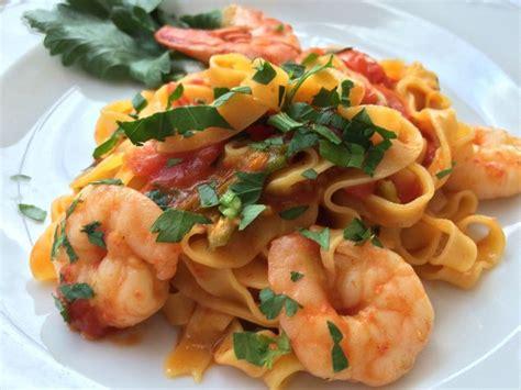 verone cuisine shrimp tagliatelle verona food vistas