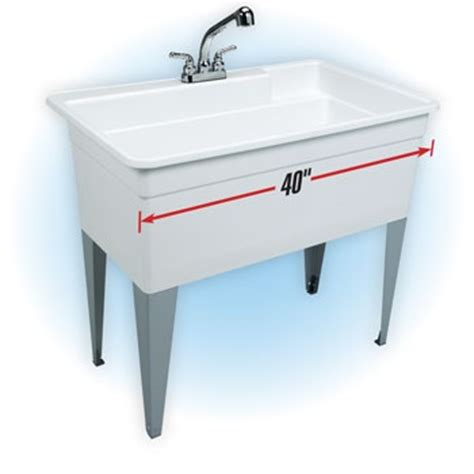 swanstone utility sink home depot big utility sink tub model 28cf basement finishing