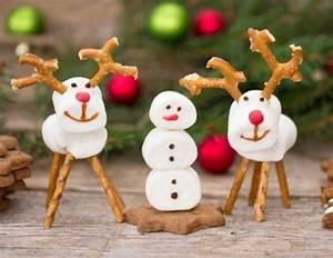 Figuren Selber Machen : weihnachtliche marshmallow figuren rezept ~ Frokenaadalensverden.com Haus und Dekorationen