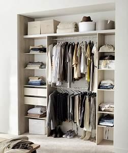 Modele De Dressing : dressing pas cher pour un rangement d co dans la chambre ~ Teatrodelosmanantiales.com Idées de Décoration