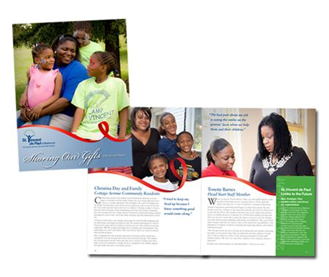 st vincent de paul volunteer application form st vincent depaul 2010 annual report redstart creative
