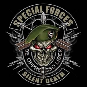 Green Beret Skull Logo | www.pixshark.com - Images ...