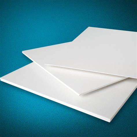 thin hard plastic sheet pvc rigid foam board 3mm pvc foam