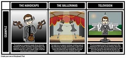 Harrison Bergeron Themes Symbols Motifs Usher Fall
