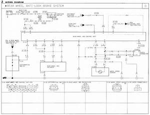 1991 Mazda B2600i Wiring Diagram  Abs Rear Wheel Anti