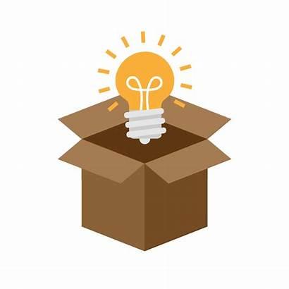 Icon Think Outside Flat Idea Transparent Thinking