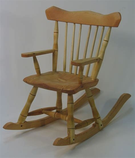 crafted child s rocking chair by silvertree