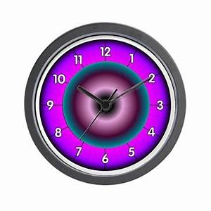 Neon Colors Wall Clock by seattlejava
