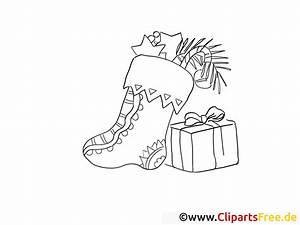 Stiefel Mit Geschenken Vom Nikolaus Ausmalbilder