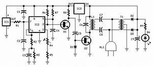 Digital Remote Thermometer Circuit Diagram
