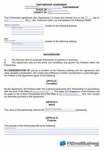 product license agreement template - how to create a business partnership agreement free