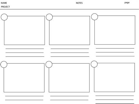 Storyboard Template!