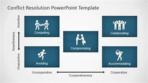 powerpoint template size pixels - conflict resolution diagram for powerpoint slidemodel