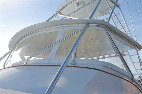 Boat Windshields Repair by Saving Vinyl Boat Windshields Boatus Magazine