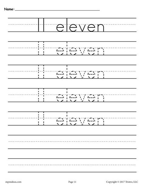 number tracing worksheets    images handwriting