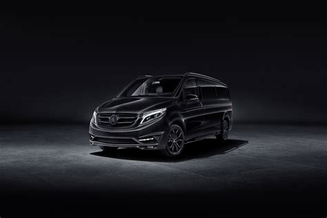 Mercedes V Class Hd Picture by Mercedes V Class Black For Vip Persons By
