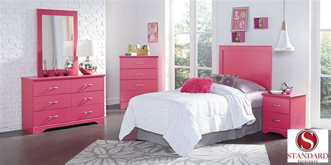 Pink Bedroom Set by True Pink Bedroom Collection Efw Bedroom Furniture