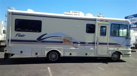 combo microwave and oven fleetwood flair motor home rvs for sale