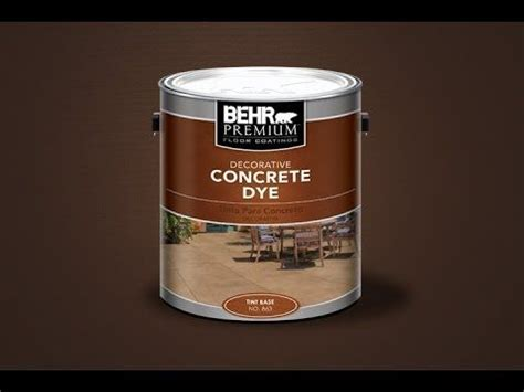 ideas  behr concrete paint  pinterest