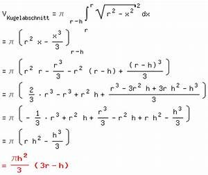 Wasservolumen Berechnen : mp ber kegel pyramiden und kugeln matroids matheplanet ~ Themetempest.com Abrechnung