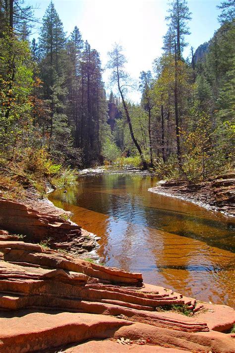 oak creek canyon arizona  beautiful  didnt