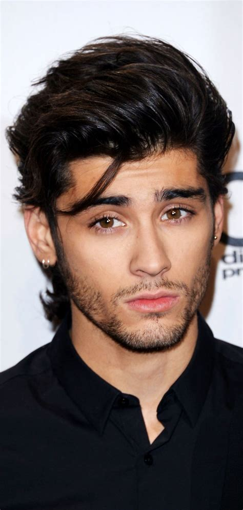 zayn malik long hairstyle fade haircut