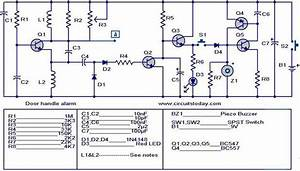 Door Buzzer System Wiring Diagram