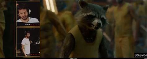 Hear Bradley Cooper's Voice For Rocket Raccoon In 'guardians Of The Galaxy,' Plus Vin Diesel
