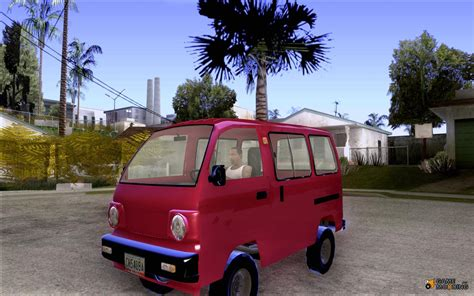 Suzuki Carry 1 5 Real Modification by Suzuki Carry 1993 For Gta San Andreas