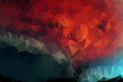 Geometric 4k Mosaic Triangles Wallpapers Poly Low