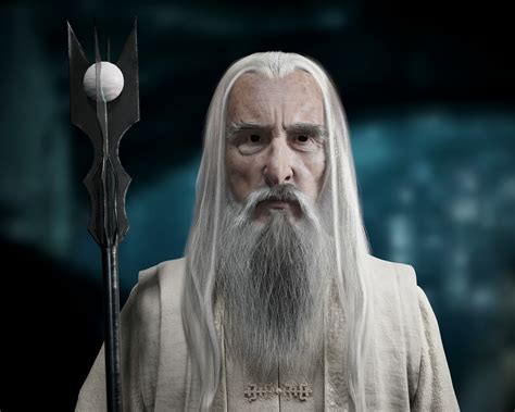 Lord Of The Rings Wallpaper Vwartclub Saruman The White