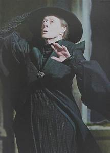 "Maggie Smith as Professor Minerva McGonagall, ""Harry ..."