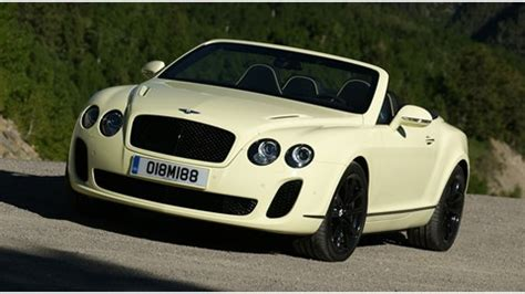 bentley continental supersports convertible  review