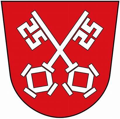 Regensburg Wikimedia Commons Wappen Wiki Wikipedia Svg