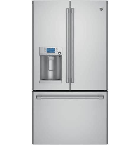 ge cafe counter depth refrigerator ge café series energy 22 2 cu ft counter depth