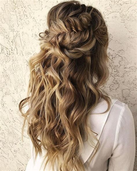 beautiful     braided hairstyle  curls