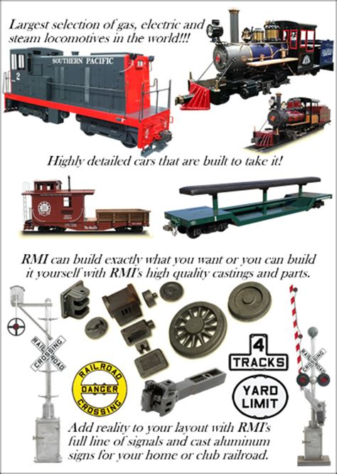 RMI Railworks Live Steam, Gas, Diesel and Electric ...
